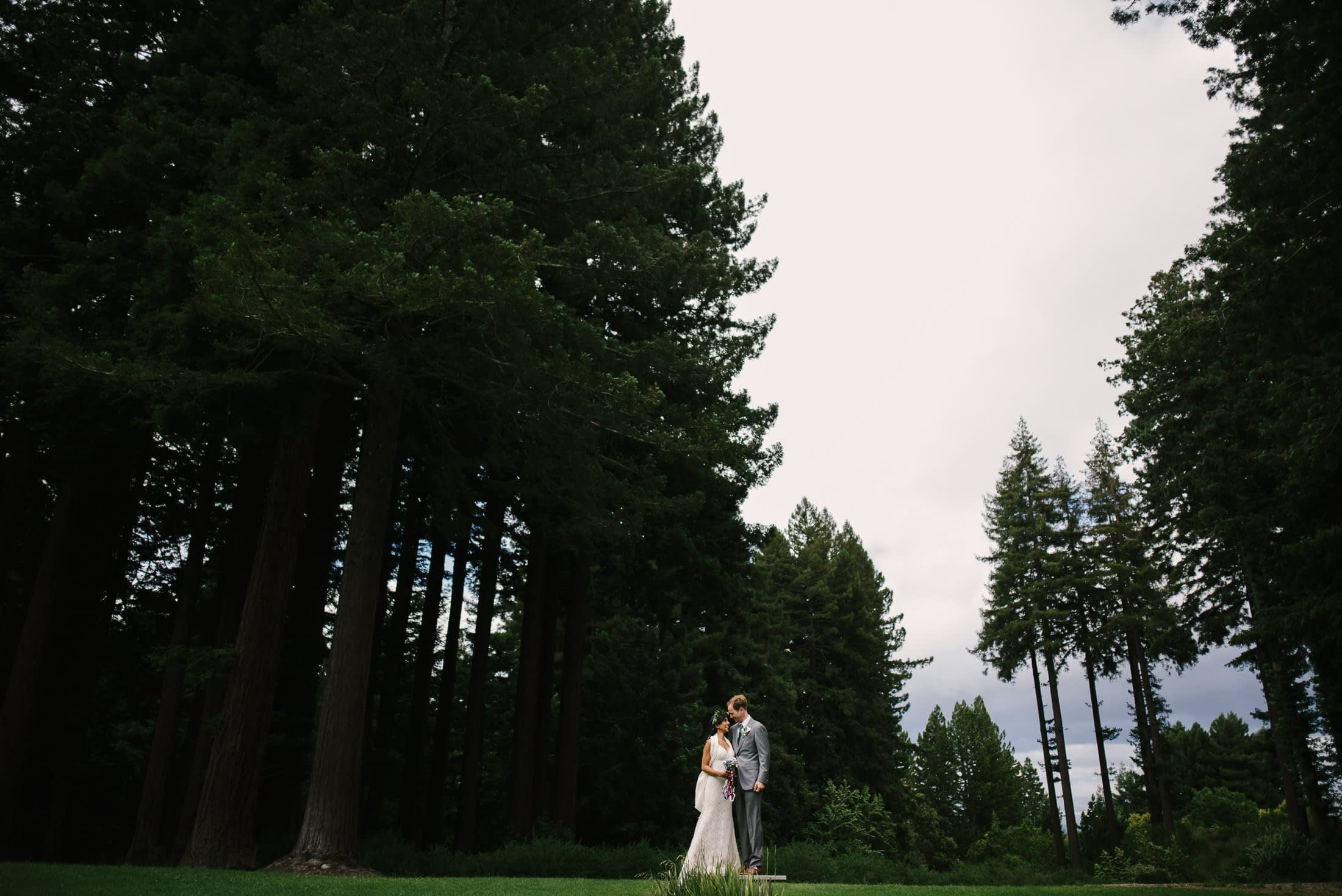 Wedding Portrait at the Mountain Terrace