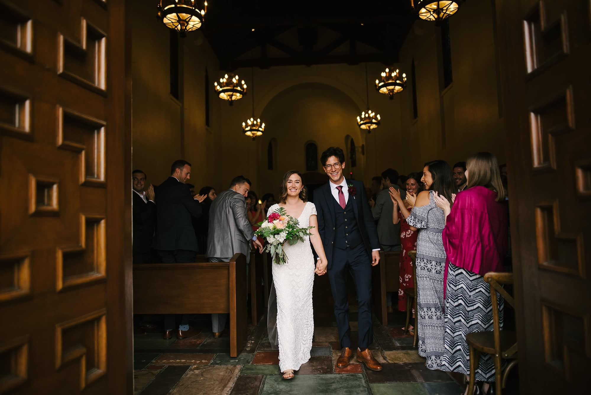 Presidio Chapel Wedding