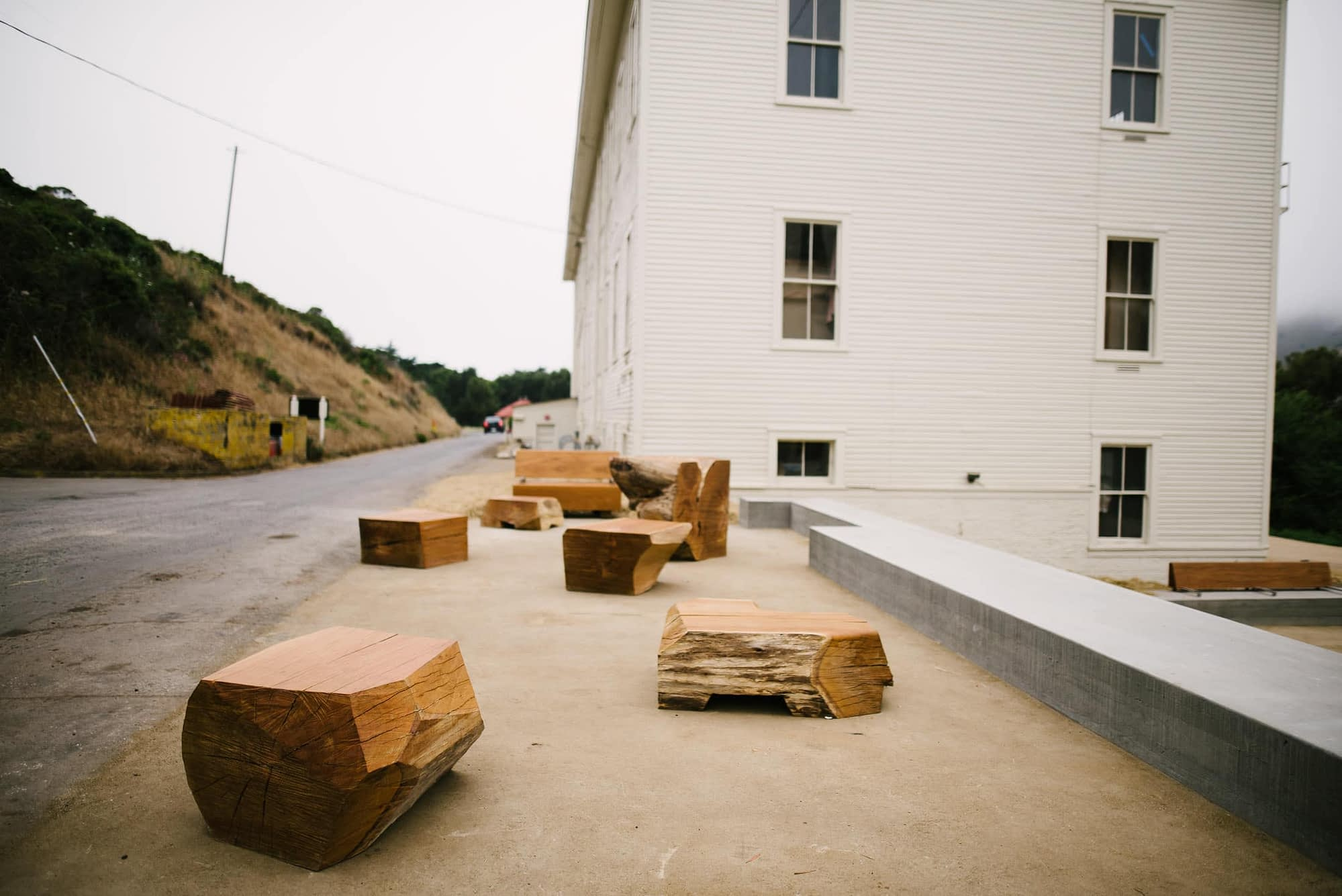 Marin Headland Center for the Arts patio space