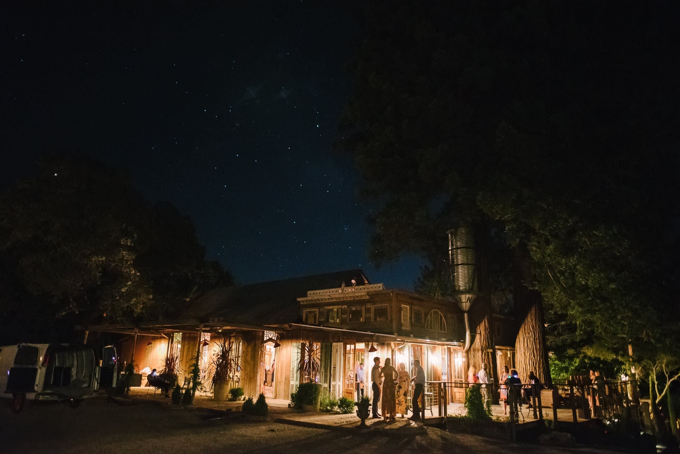 Triple S Ranch Wedding Night Time Pics