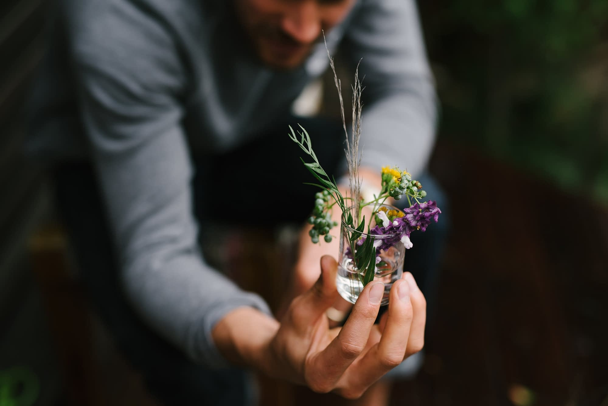 DIY Wedding Foraged Flowers