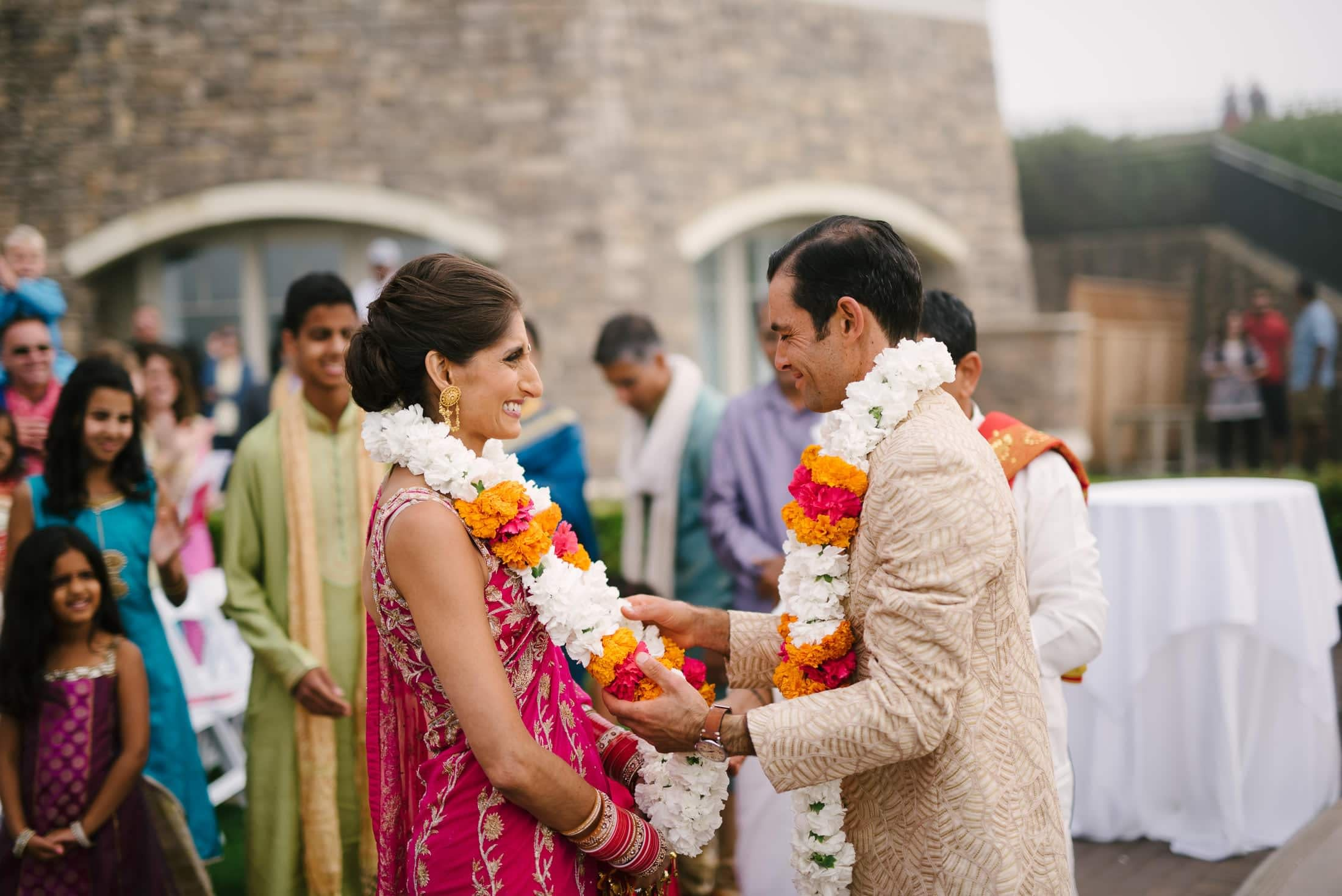 Ritz Carlton Half Moon Bay Wedding Indian