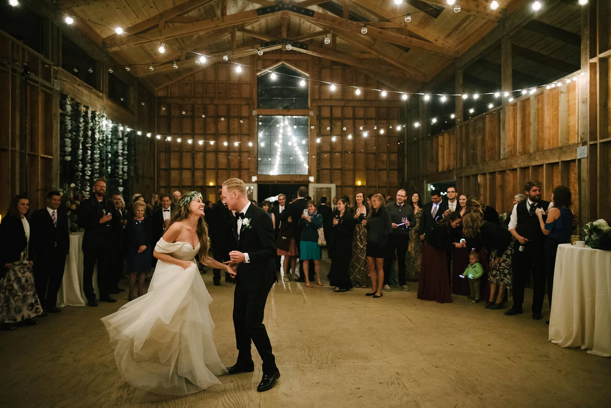 Oz Farm Wedding Dancing