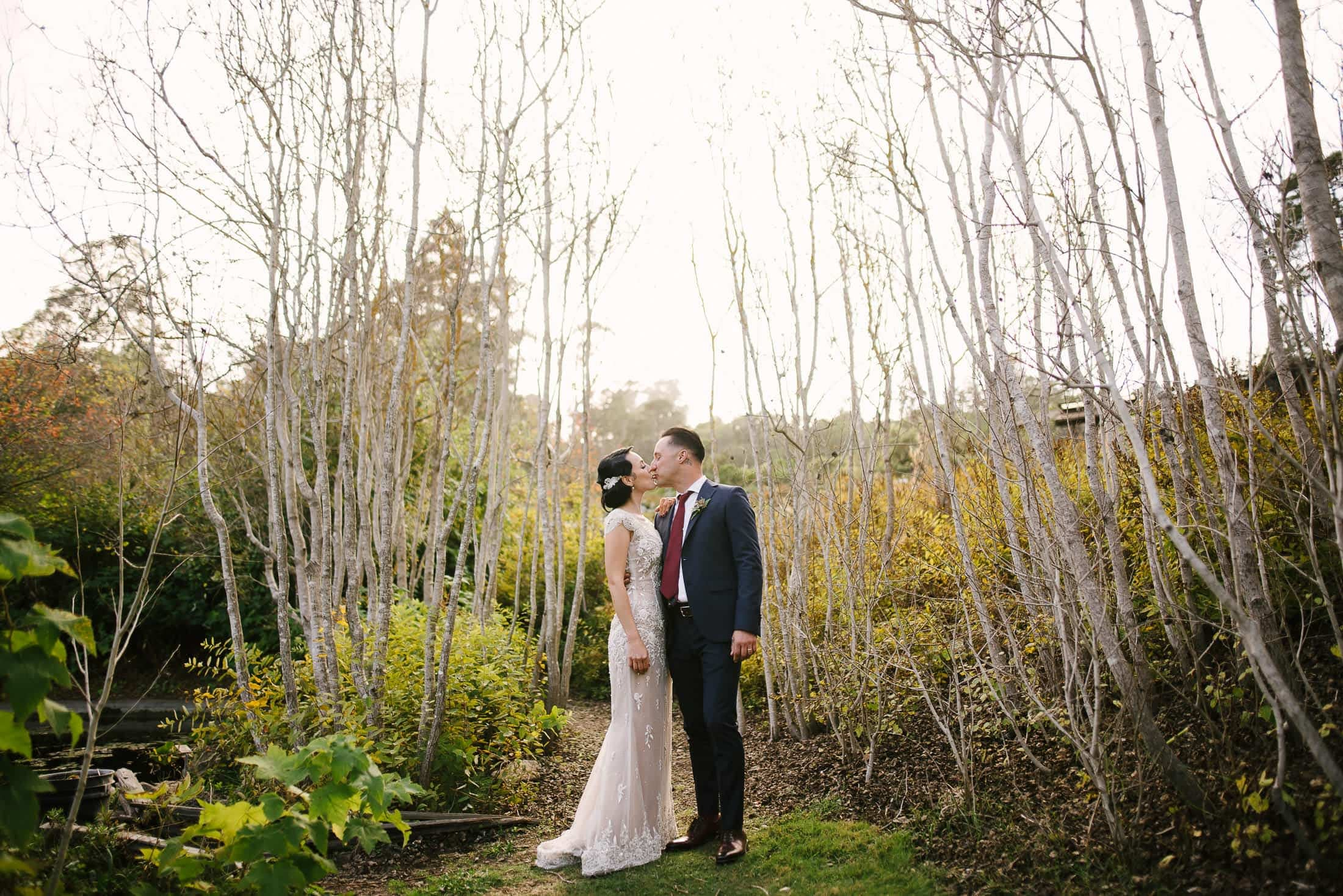 Botanical Garden Wedding Oakland