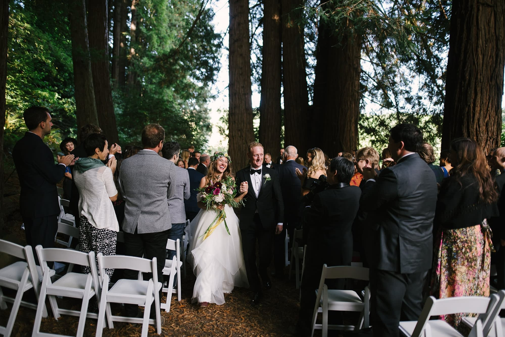 Oz Farm Wedding Ceremony