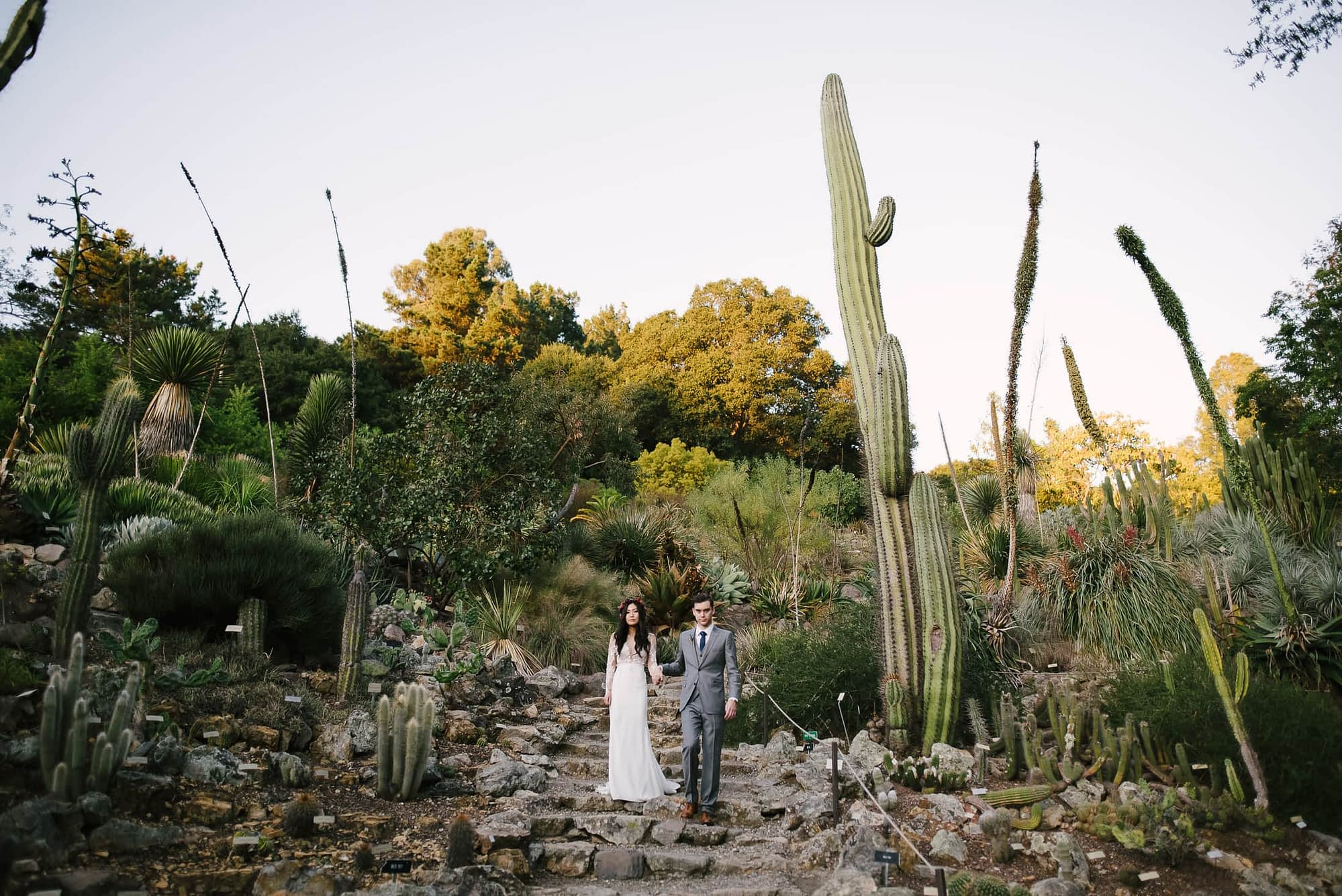 UC Botanical Gardens Wedding