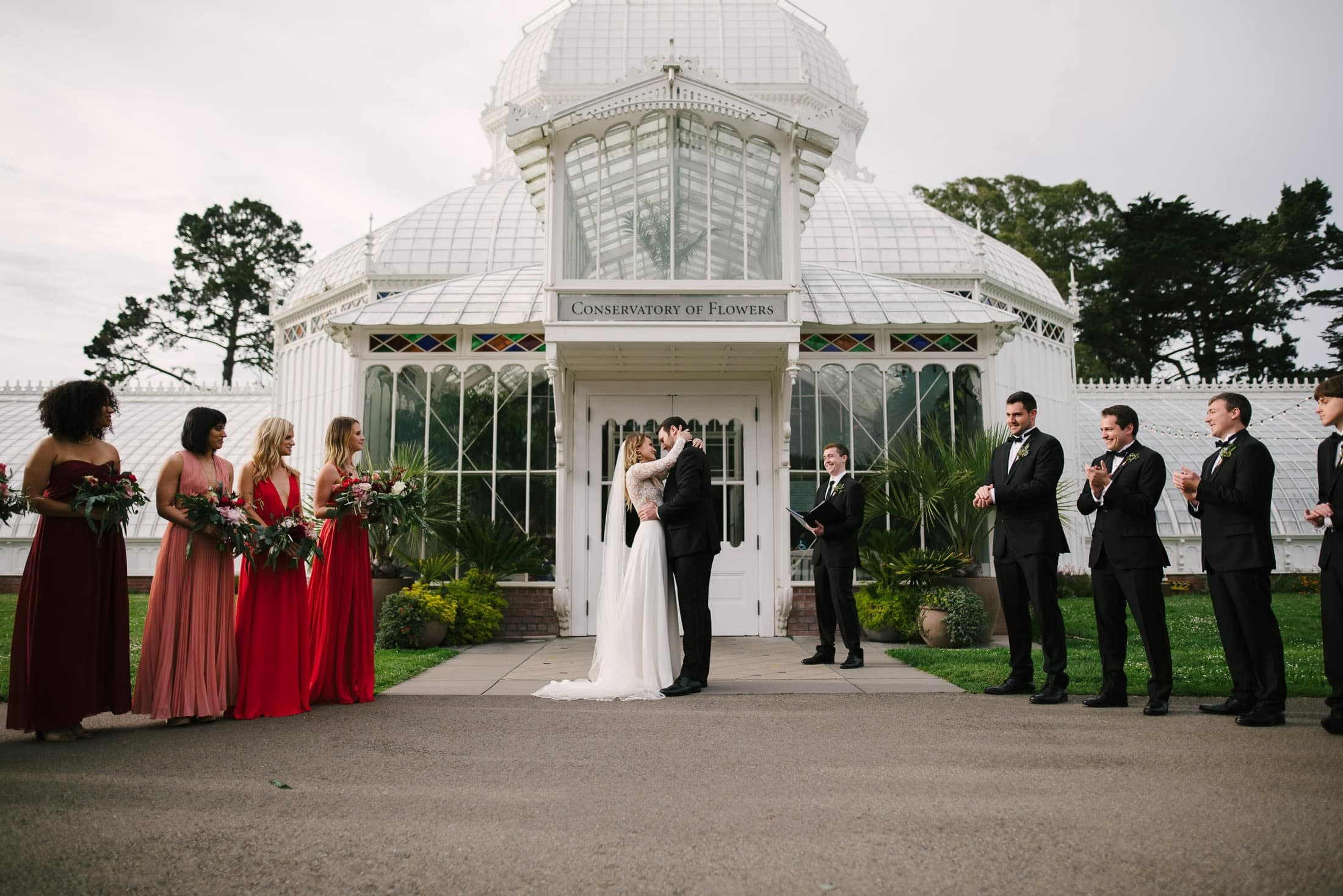 Conservatory of Flowers Wedding Ceremony