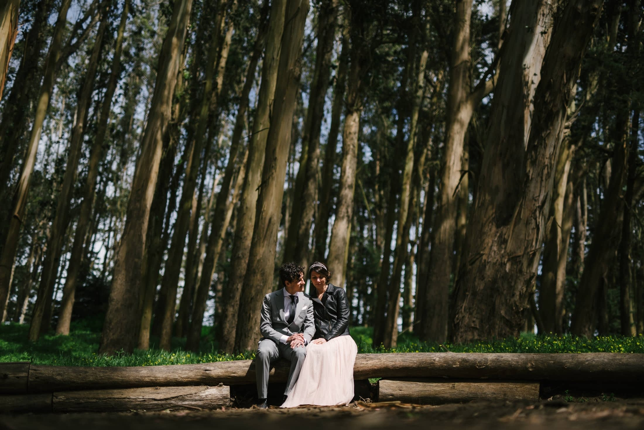 Wood Line Wedding Pics