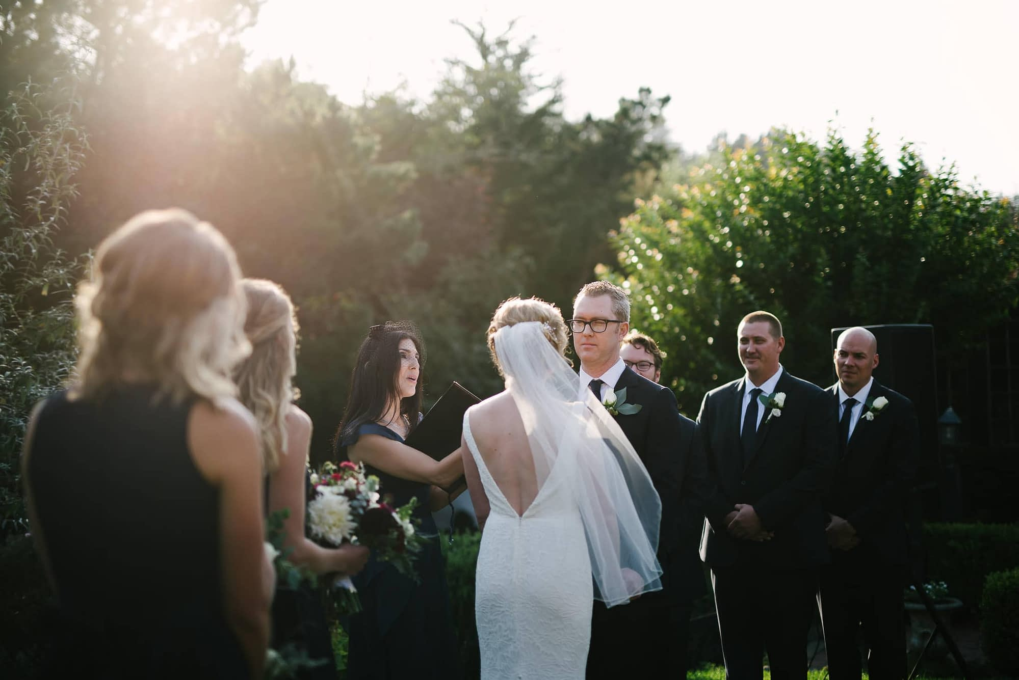 Pelican Inn Wedding Ceremony