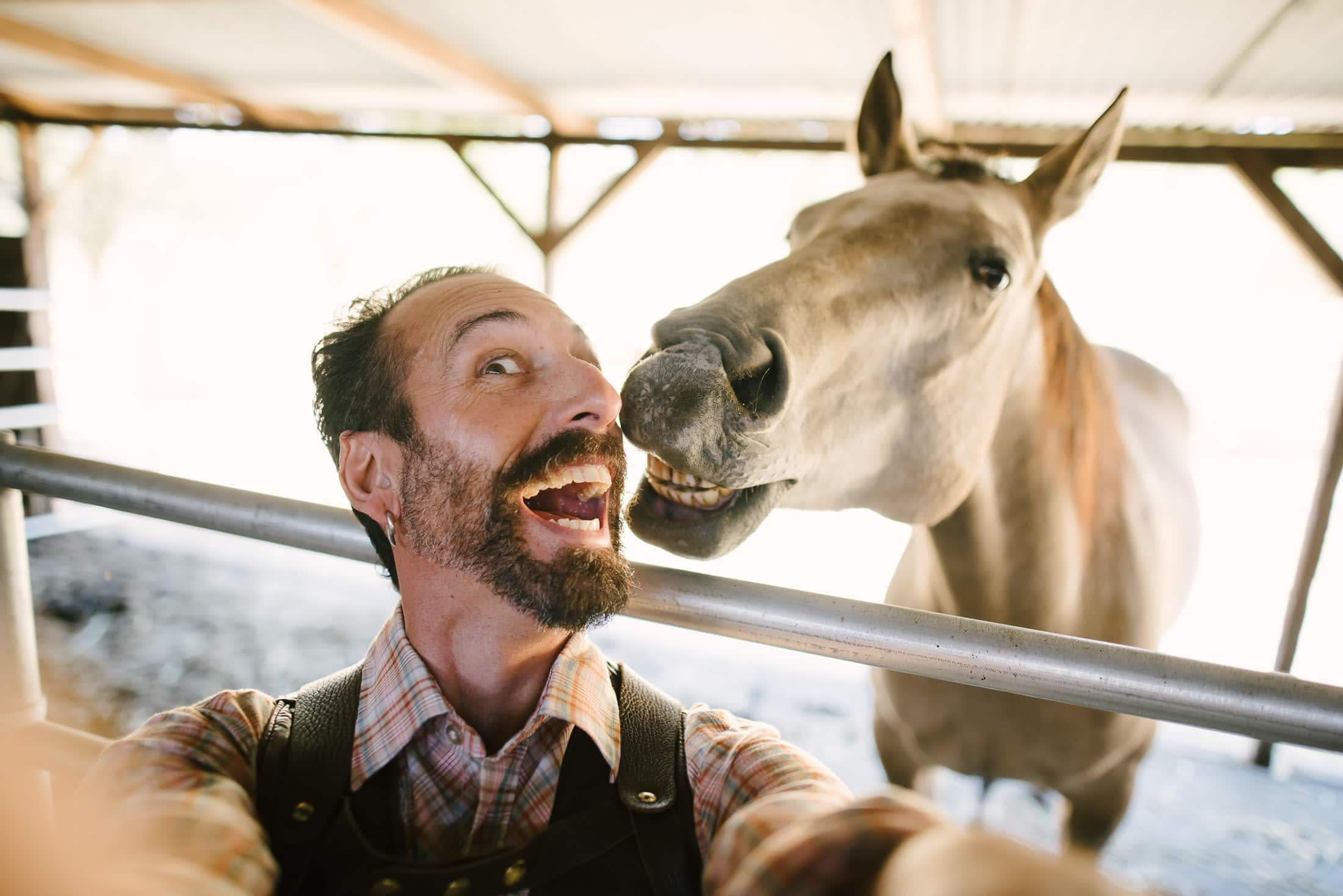 Selfie with a Horse