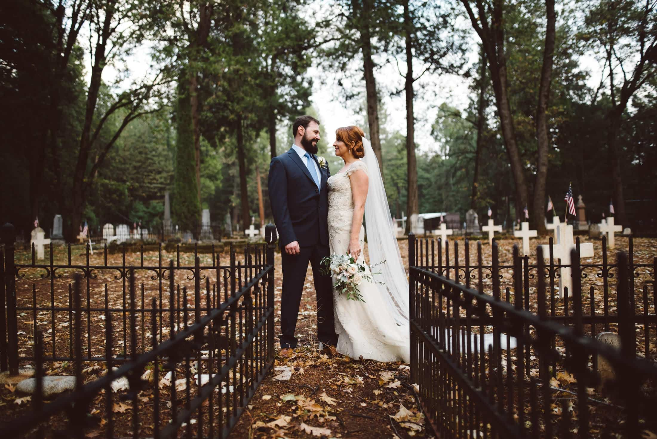forest hill wedding portrait