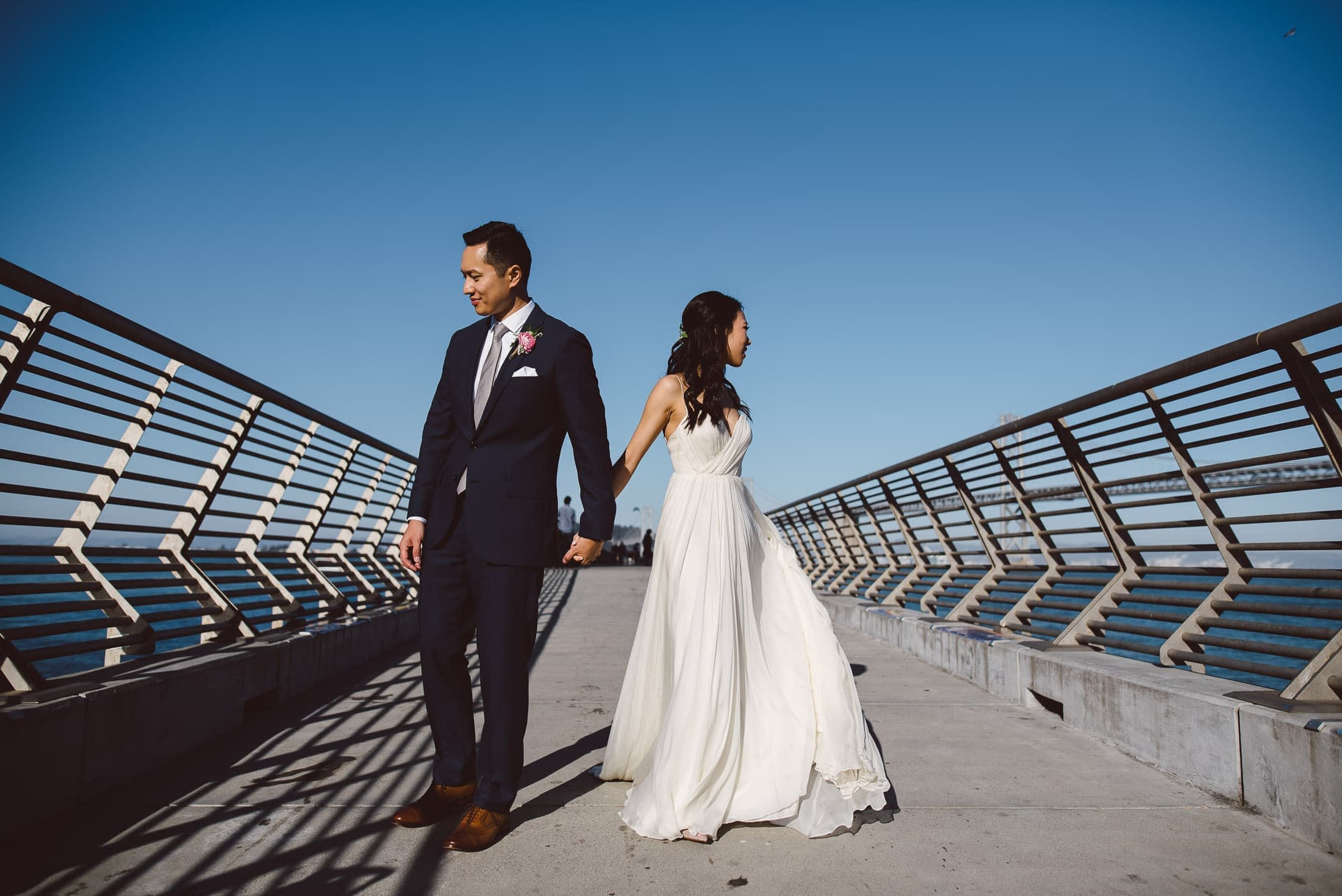 San Francisco Wedding Portrait