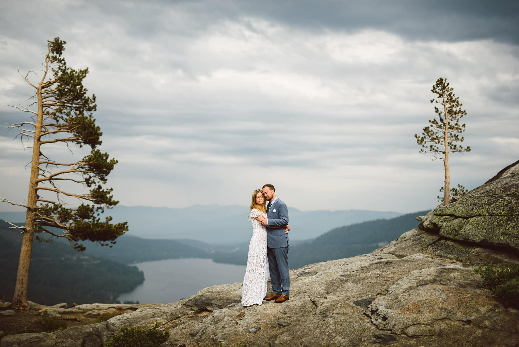 Lake Tahoe Wedding Portrait