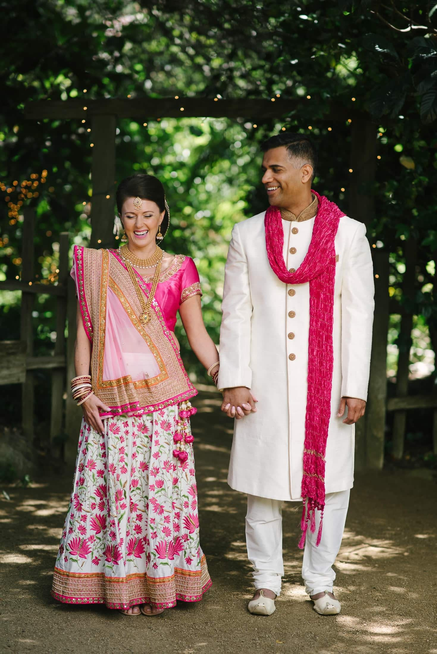 Indian couple at the Holly Farm